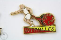 Vitrolles - C.O.F.I.N. 93 - Signed Boussemart - Fireman/ Firefigter - Pin Badge #PLS - Bomberos