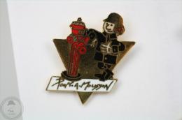 France, Pont A Mousson Sapeurs Pompiers - Fireman/ Firefigter - Pin Badge #PLS - Bomberos