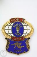 World Police & Fire Games - Judo - Pin Badge #PLS - Bomberos