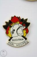 Quievrain, Asbl Medifel - Fireman/ Firefighter - Pin Badge #PLS - Bomberos
