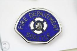 Seattle Fire Department - Firefighter/ Fireman - Pin Badge #PLS - Bomberos