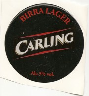 P-BIRRA CARLING-LAGER-ADESIVO DA SPILLATRICE - Insegne