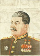 386-*SPAIN CIVIL WAR*10 UNCUT COUPONS*GUERRA CIVIL ESPA�OLA*LANGREO, ASTURIAS*STALIN*