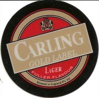 P-BIRRA CARLING-GOLD LABEL-ADESIVO DA SPILLATRICE - Insegne
