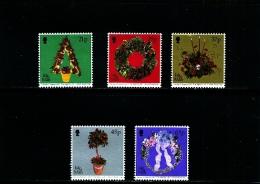 ISLE OF MAN - 2001  CHRISTMAS  SET MINT NH - Isola Di Man