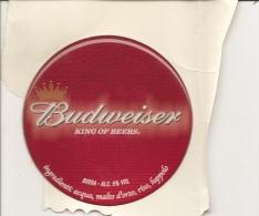 P-BIRRA BUDWEISER-KING OF BEERS-ADESIVO DA SPILLATRICE - Insegne