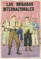 393-*SPAIN CIVIL WAR*10 UNCUT COUPONS*GUERRA CIVIL ESPA�OLA*BO�AR, LEON 1937*BRIGADAS INTERNACIONALES*