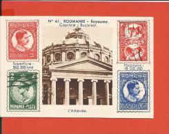 Chromos - Produits Schmid - Roumanie - Bucarest - L'athénée - Vieux Papiers