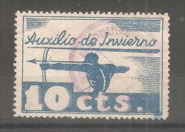 Viñeta De Auxilio De Invierno. - España