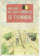 400-*SPAIN CIVIL WAR*10 UNCUT COUPONS*GUERRA CIVIL ESPA�OLA*CAMPO LAMEIRO, PONTEVEDRA 1937*RADIO COMUNISTA DE ESPINARDO*