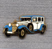 Pin´s  Automobile  Mèrcédès ?  Verso  TYPE - 460  NURBURG  1928  Et  ARTHUS  BERTRAND - Arthus Bertrand