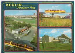 Berlin -  Potsdamer Platz - Train Trein Tram Railway Station Gare ... - Mur De Berlin