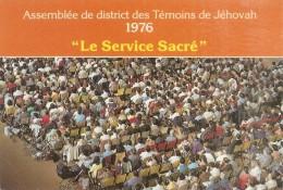 """1976 Assemblée De District Des Témoins De Jéhovah """" Le Service Sacré """" - Religión & Creencias"""