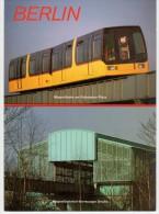 Berlin - Tram Railway - Magnetbahn Potsdamer Platz - Magnetbahnhof Bernburger Strasse - Bahnhof Gare Railway Station - Allemagne
