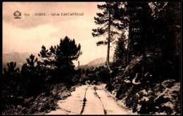 CPA - Corse, Corica - Col De Tartavello - France