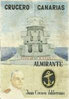 414-*SPAIN CIVIL WAR*10 UNCUT COUPONS*GUERRA CIVIL ESPA�OLA*CASABERMEJA, MALAGA 1940*CRUCERO CANARIAS*