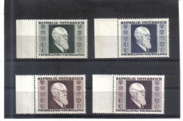SOS828  ÖSTERREICH 1946 ANK  776/79 MICHL  772/75  ** Postfrisch - 1945-.... 2. Republik