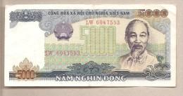 Vietnam - Banconota Circolata Da 5000 Dong - 1987 - Vietnam