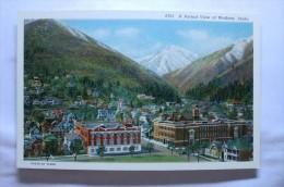 A Partial View Of Wallace, Idaho - Etats-Unis