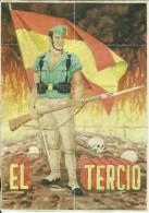 423-*SPAIN CIVIL WAR*10 VOUCHERS FOR MONEY*GUERRA CIVIL ESPA�OLA*C�RCEL DE TOLEDO*EL TERCIO DE LA LEGION*