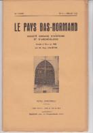 LE PAYS BAS NORMAND 1960 N° 2 POTIERS JUVIGNY CHAPELLE MOCHE MOINES RANES PONT MOTTE EGRENNE CEAUCE Voir Scan - Normandie