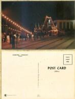 Ak  Paraguay - Asuncion - Hafen - Nacht - Paraguay
