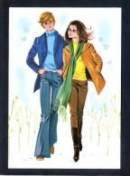 Ilustrador Anónimo. Ed. Omni-Impressions, S.A. Serie 57/10 Nº 1 Al 4. Serie Completa De 4. Nuevas - Ilustradores & Fotógrafos