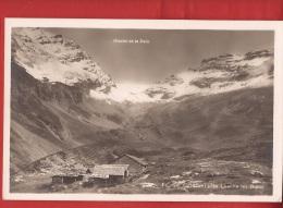 CLO2-28 Chalets D'alpage à Fluhalp Près Leukerbad, Loèche-les-Bains.  Glacier De La Dala. Non Circulé - VS Wallis