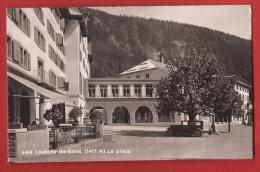 CLO2-30 Leukerbad, Loèche-les-Bains, La Place. SG 6464  Non Circulé - VS Wallis