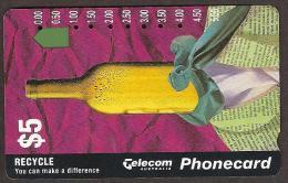 Telecom Australia $5 Wine Bottle - Australië
