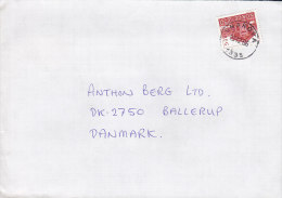 Norway Deluxe SNARØYA 1986 Cover Brief To Denmark - Briefe U. Dokumente