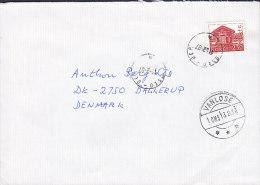 Norway Deluxe OSLO - JEP. 1987 Cover Brief To Denmark VANLØSE Vanloese Arrival Cancel !! - Briefe U. Dokumente