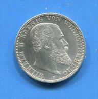 Allemagne  2  Mark   1906  Wuert - [ 2] 1871-1918 : German Empire
