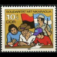 DDR 1983 - Scott# B196 Nicaragua Set Of 1 MNH (XR948) - [6] Democratic Republic