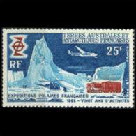 FR.S.& ANTARCT 1969 - Scott# 33 Expedition Set Of 1 MNH (XL856) - Terres Australes Et Antarctiques Françaises (TAAF)