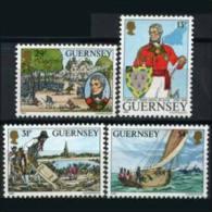 GUERNSEY 1984 - Scott# 303-6 American War Set Of 4 MNH (XB257) - Guernsey