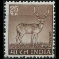 INDIA 1974 - Scott# 623 Axis Deer 25p MNH (XE285) - Nuovi