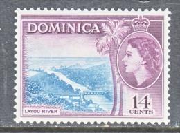 DOMINICA  151  *  RIVER - Dominica (...-1978)