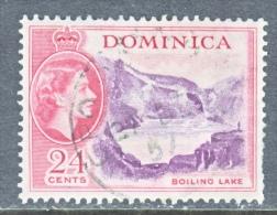 DOMINICA  152  (o)    BOILING LAKE - Dominica (...-1978)