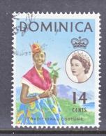 DOMINICA  173  (o)  COSTUME  TYPE I - Dominica (...-1978)