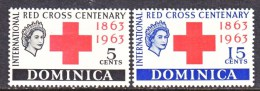 DOMINICA  182-3  *  RED CROSS - Dominica (...-1978)