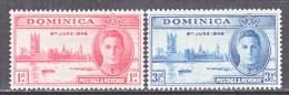 DOMINICA   112-3  * - Dominica (...-1978)