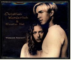 Single CD  -   Christian Wunderlich & Kirstin Hall  –  Forever Tonight  -  Von 1999 - Disco, Pop
