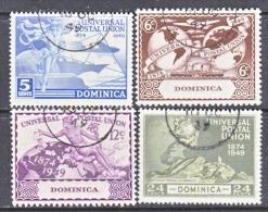DOMINICA  116-19  (o)   UPU - Dominica (...-1978)