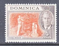 DOMINICA  126  *   ORANGES - Dominica (...-1978)