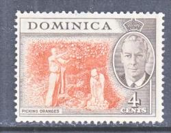 DOMINICA  126  (o)     ORANGES - Dominica (...-1978)