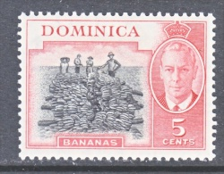 DOMINICA  127  *  BANANAS - Dominica (...-1978)