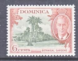 DOMINICA  128  *   BOTANICAL GARDENS - Dominica (...-1978)
