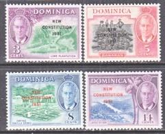 DOMINICA  137-40  *    CONSTITUTION - Dominica (...-1978)