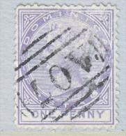 DOMINICA  5  (o)   Wmk 1 CC - Dominica (...-1978)